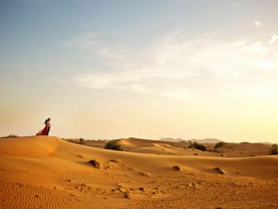 Verónica e Ian - Desierto Dubai
