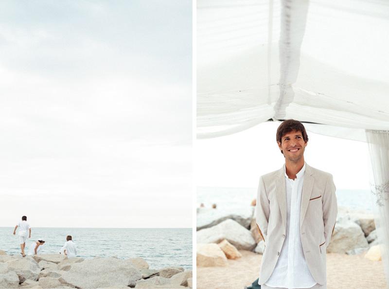 boda playa canet de mar