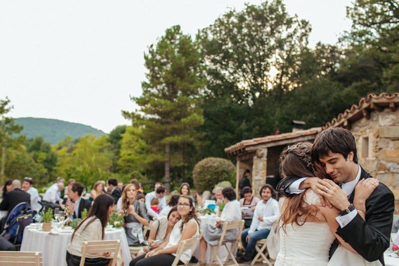 boda aire libre masia