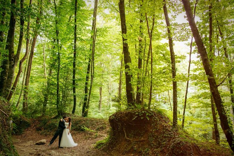 boda bosque cataluña