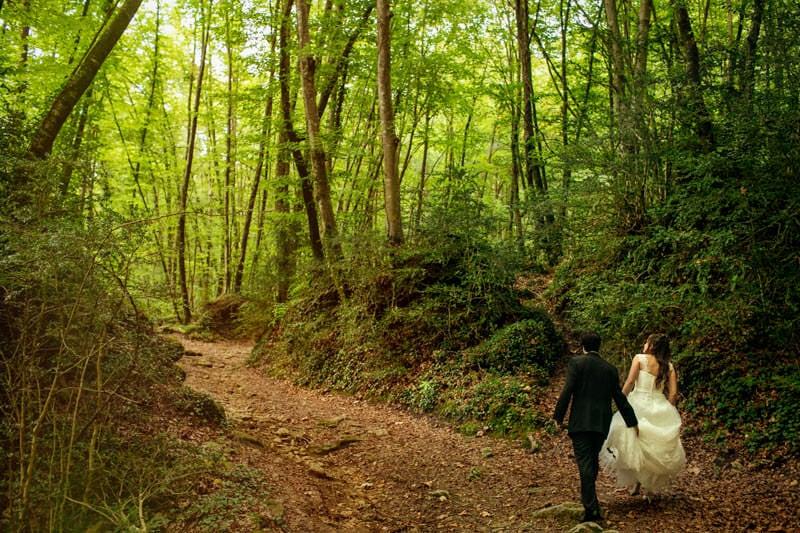 boda rural naturaleza girona