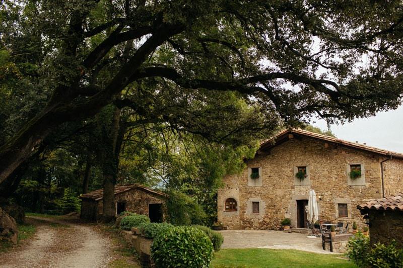 boda masia cataluña
