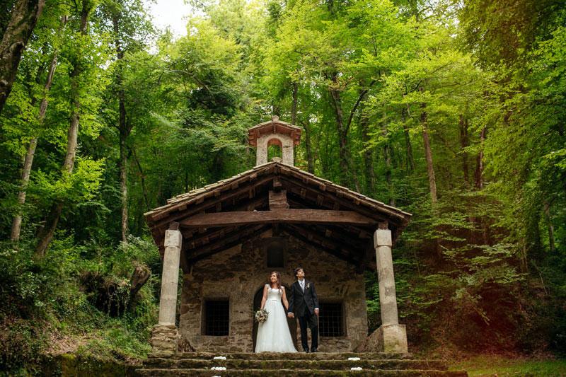 fotografos boda bosques