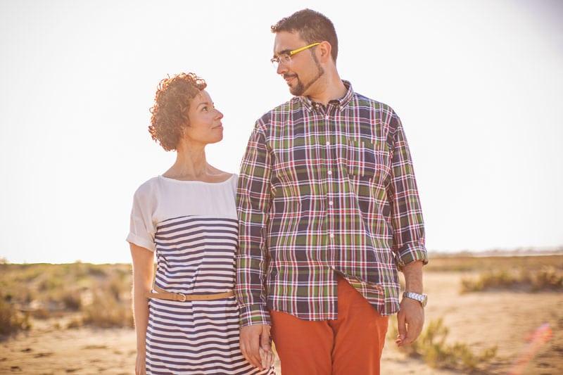 fotos preboda hipster playa