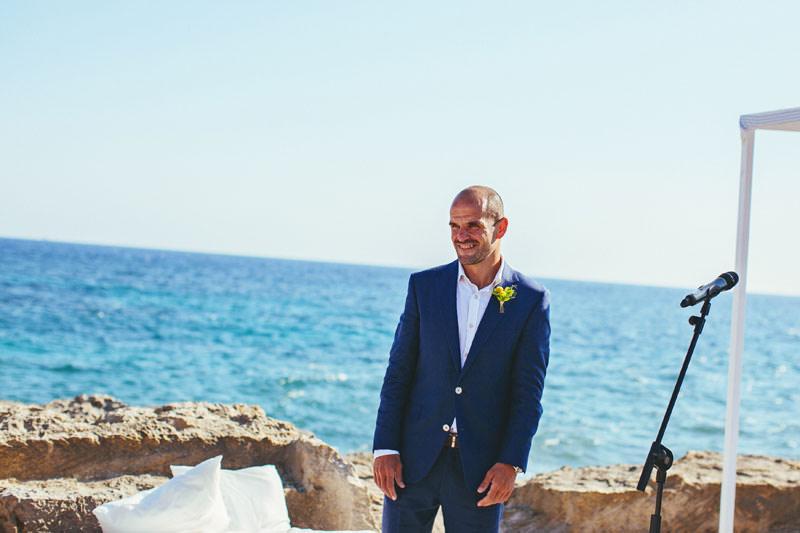 boda playa menorca