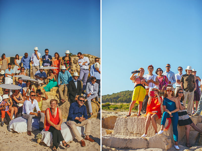 boda en playa menorca