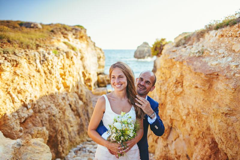 casarse en playa menorca