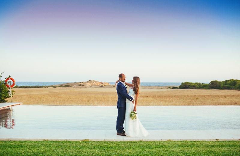 boda en menorca playa