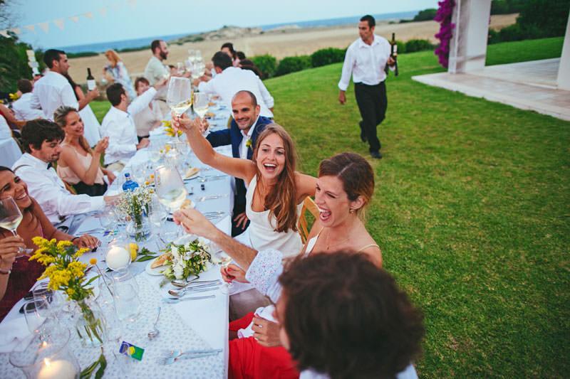 boda desenfada menorca