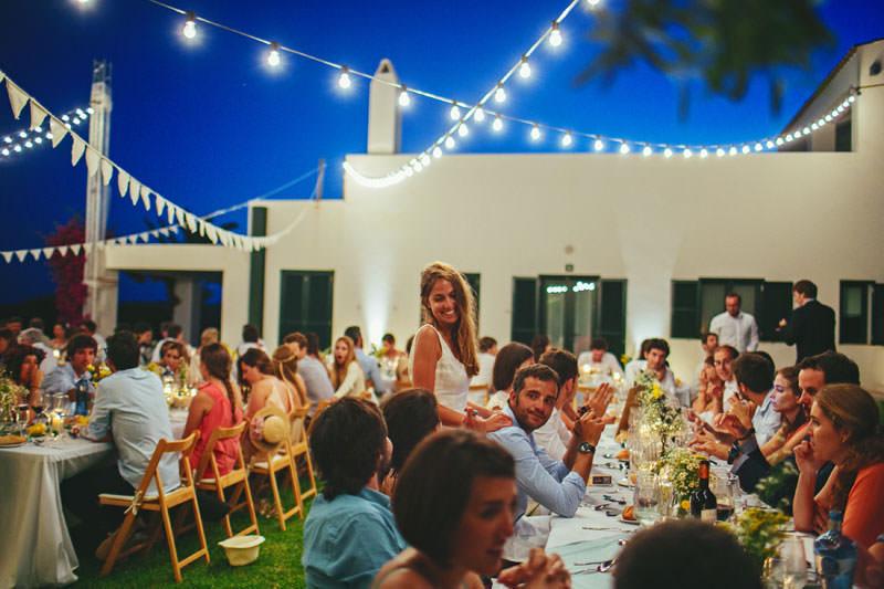 bombillas bodas aire libre