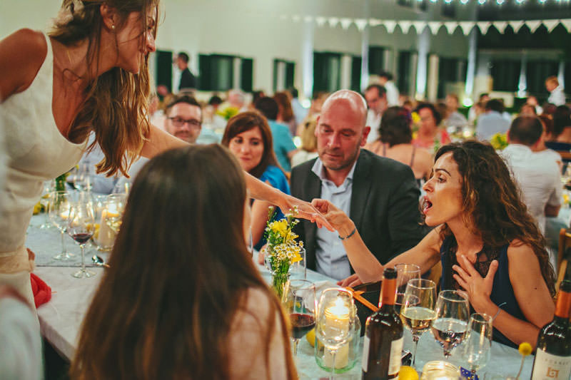 boda aire libre bombillas