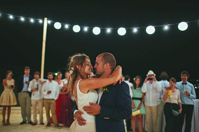 boda menorca aire libre
