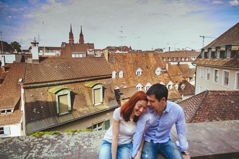fotos pareja ciudad