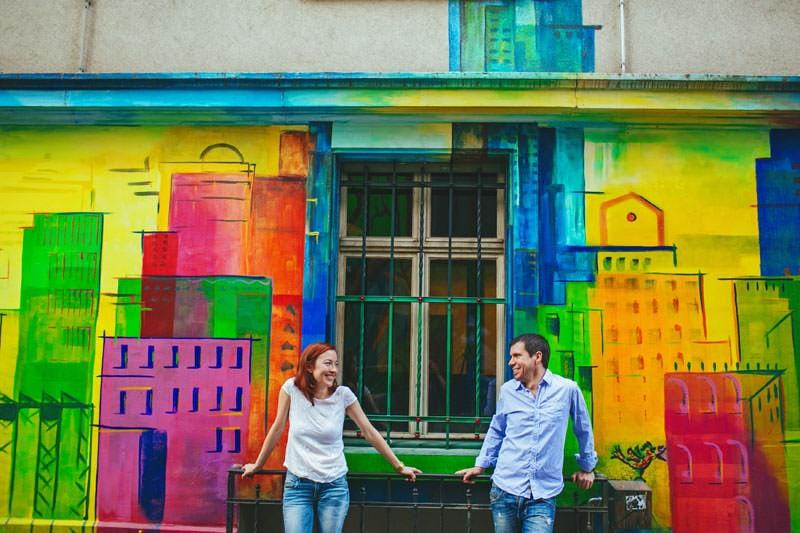 sesion pareja urbana