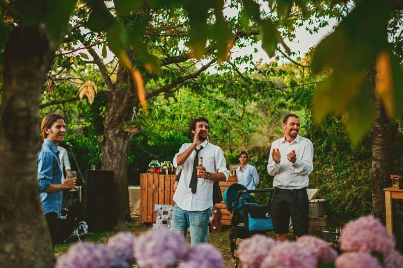 boda ntima en masia rustica de barcelona