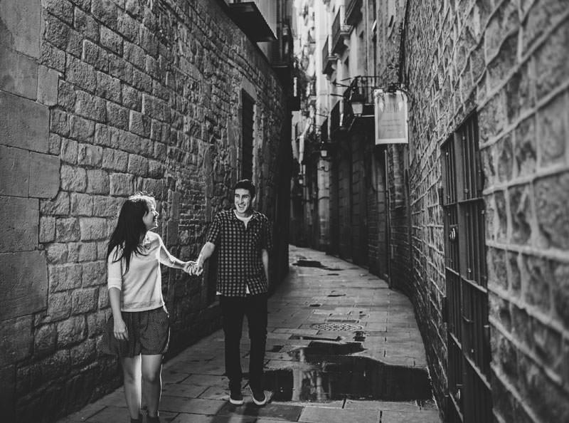 fotos pareja indie barcelona