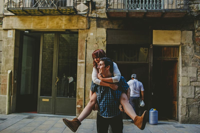 fotos pareja hipster barcelona