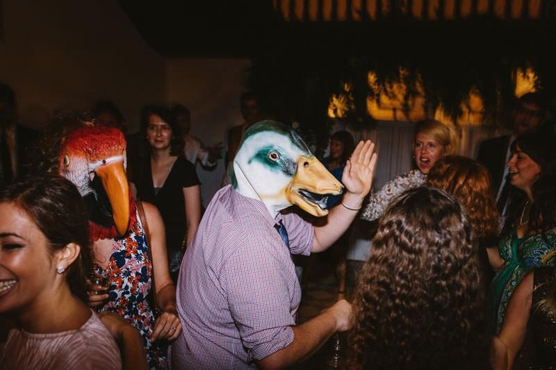 fiesta boda divertida