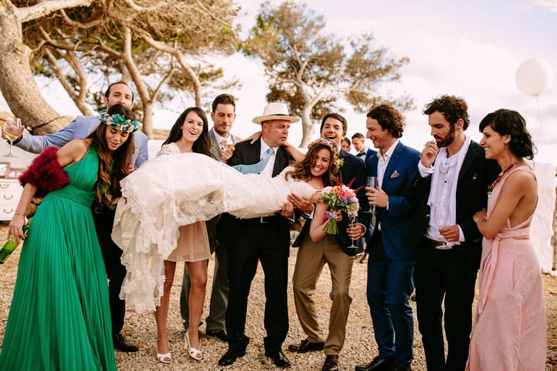 boda boho menorca