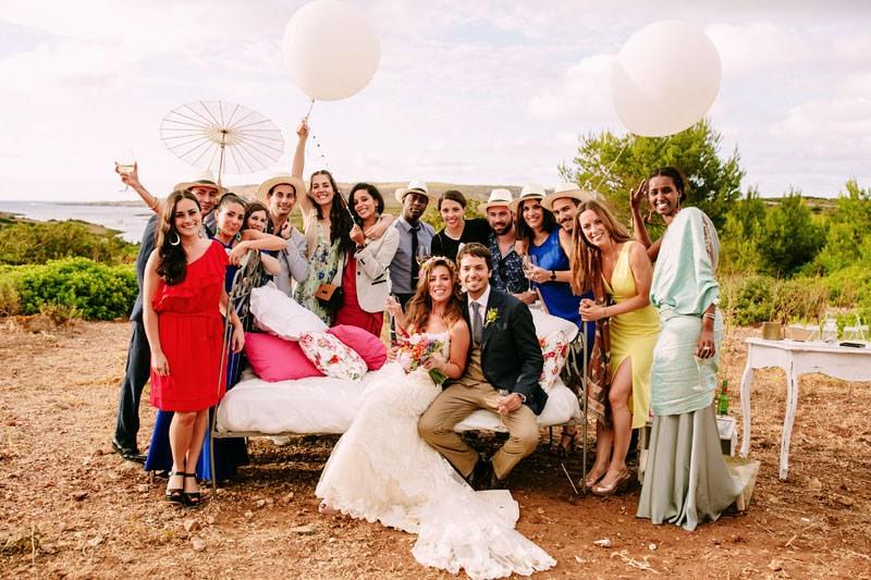boda divertida menorca