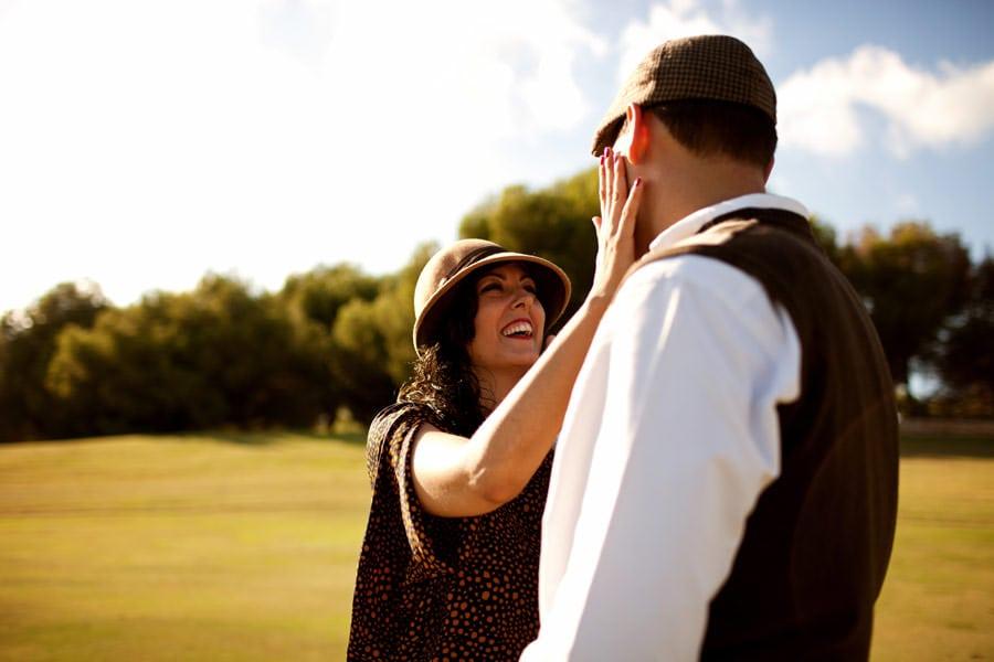 fotografias preboda campo de golf la manga