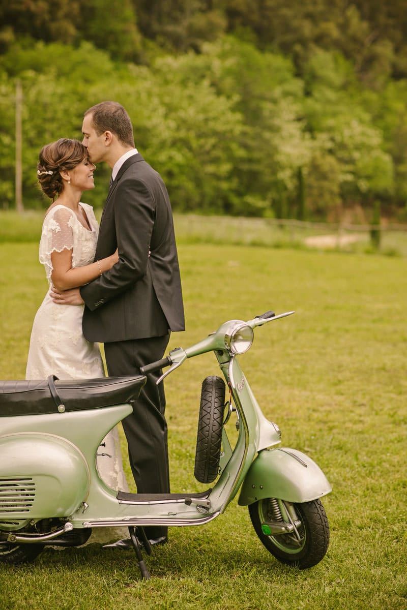 fotografos bodas vespa