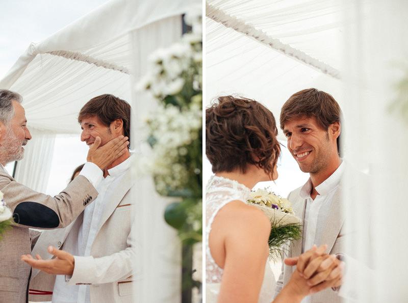 spainish beach wedding photographer