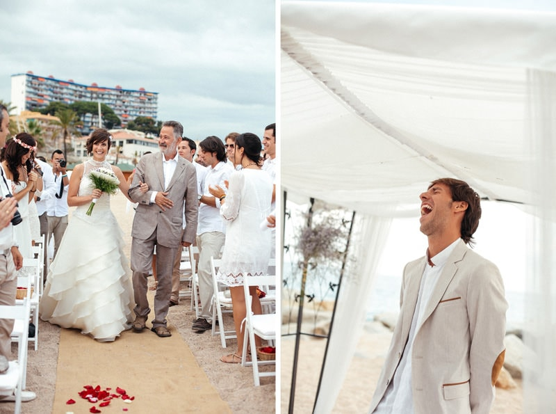 barcelona beach wedding photographer
