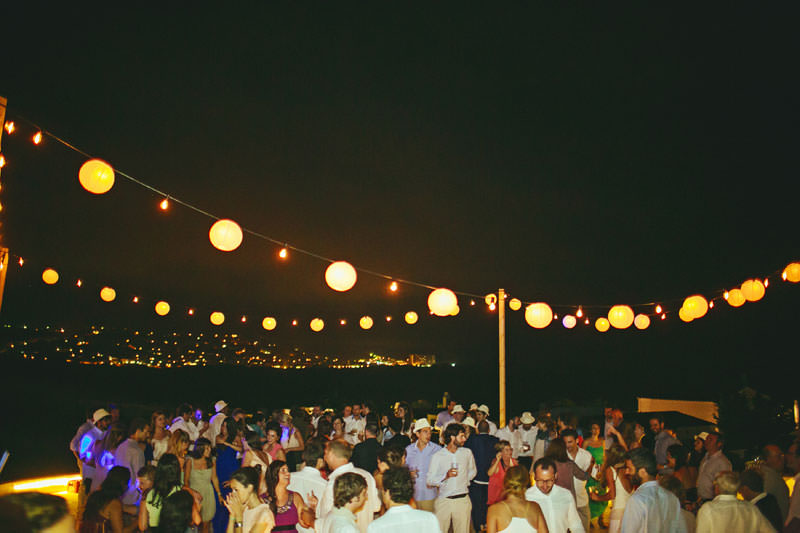 fiesta aire libre boda menorca