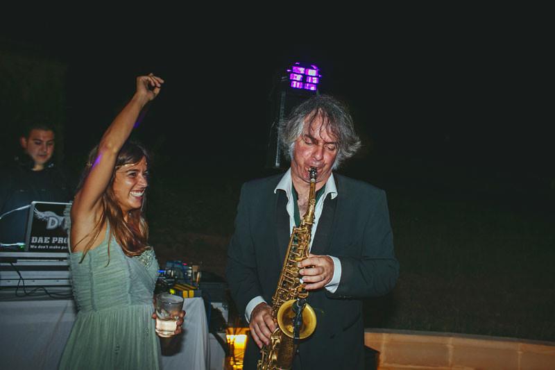 musico jazz boda