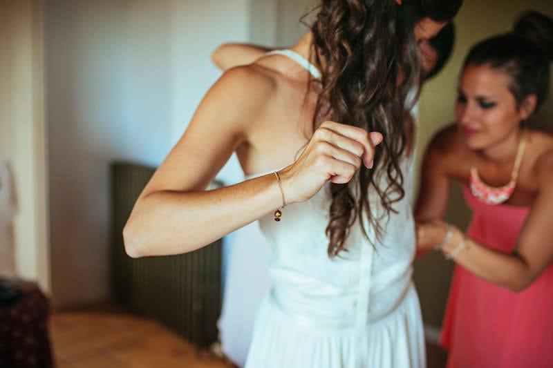 vestido sencillo boda
