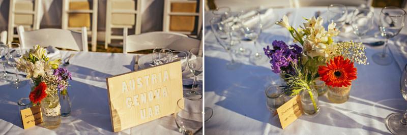 decoracion mesa bodas