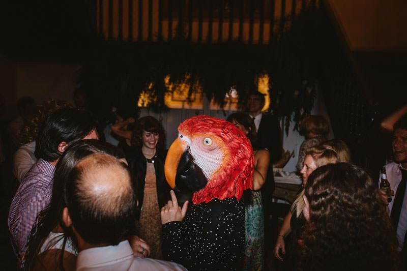 fiesta divertida boda