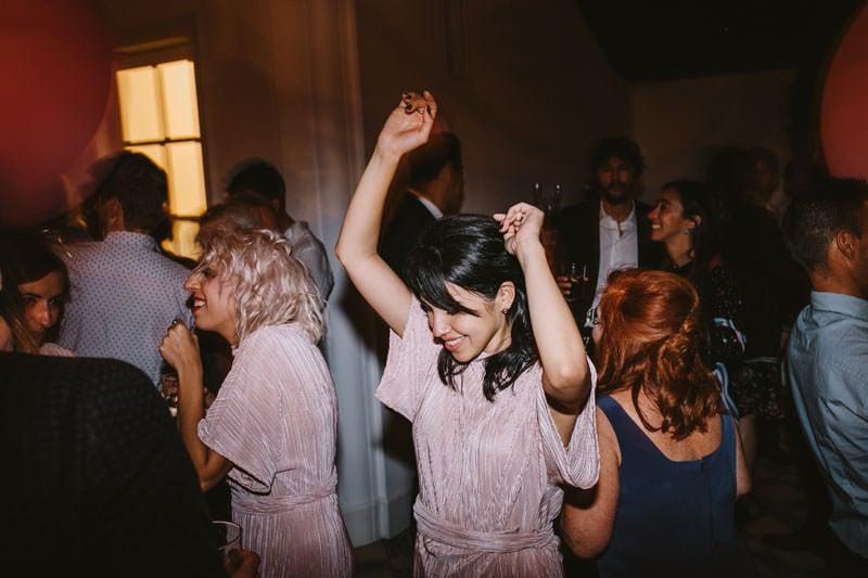 fiesta boda masia