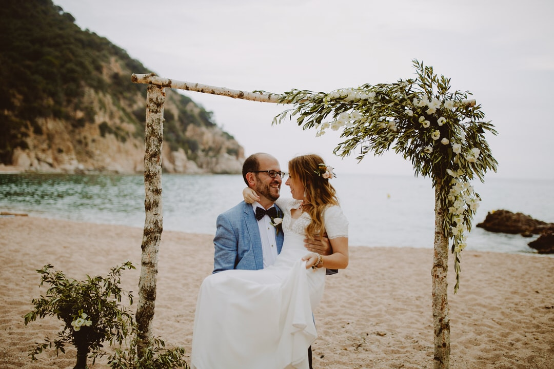 boda playa cala canyet costa brava