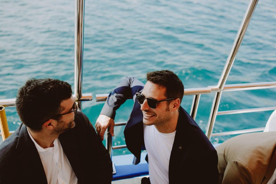 boda barco mediterraneo
