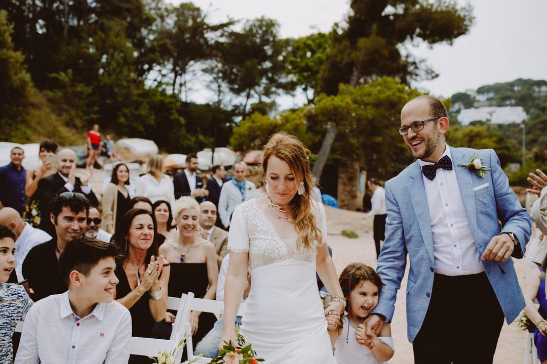 boda playa cala costa brava