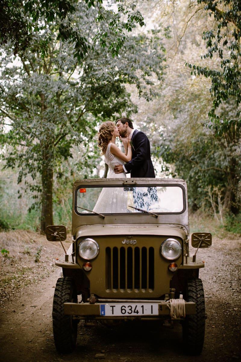 fotografias boda jeep guerra