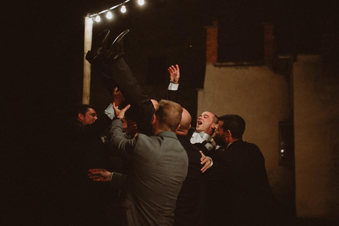 cena boda verbena masia