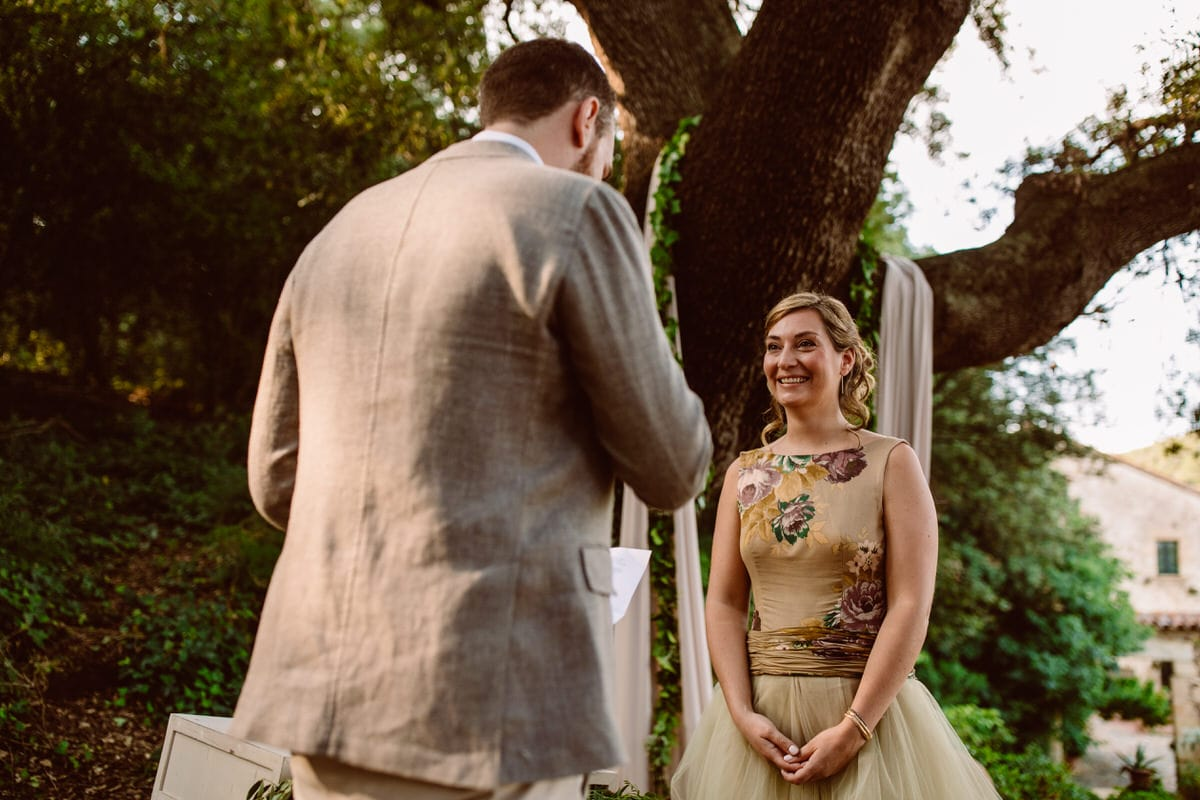 fotografias boda en un bosque