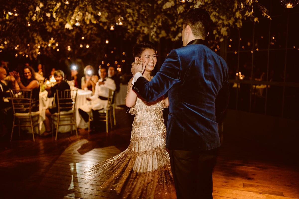 vestido novia años 50