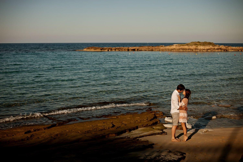 sesion fotos pareja playa campo