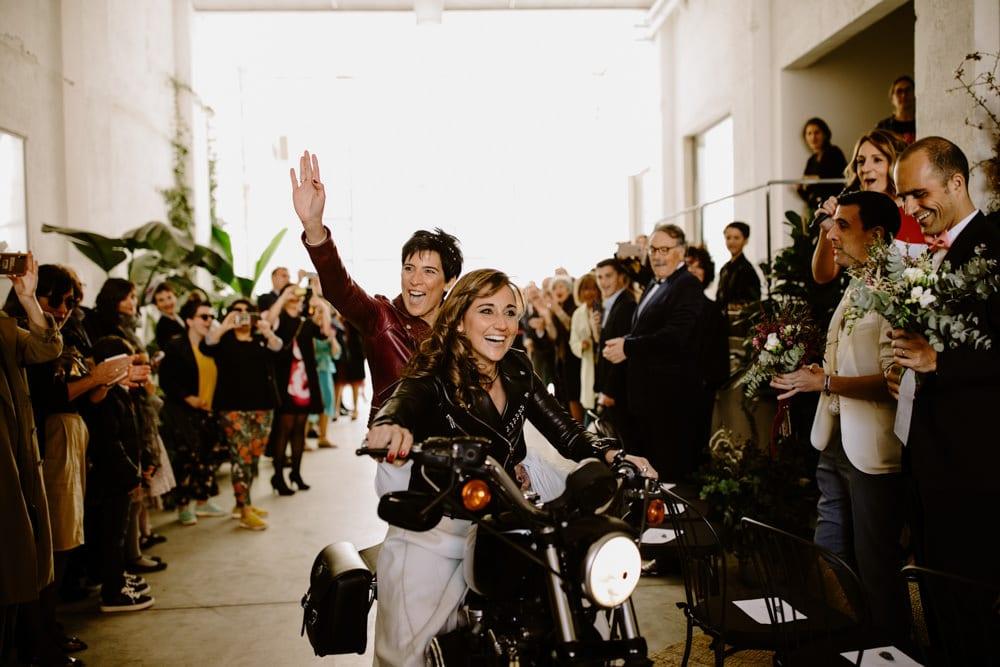 fotografa boda lesbica